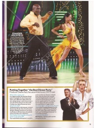 Screenshot from the Special People Issue for the 10th year anniversary of Dancing with the Stars