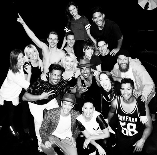 The Cast of MOVE Live on Tour 2! Courtesy: derekhough & juleshough IG