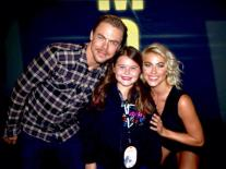 """""""She was SO thrilled to meet you last night & loves dance. SAD that her picture is blurry!"""" - San Diego, California - August 6, 2015 Courtesy @AZuspan"""