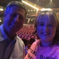 """Bruce Hough (Derek's dad) and I......he recognized me!"" - Las Vegas, Nevada - August 8, 2015 Courtesy cldancer IG"