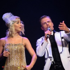 """""""""""Feel your heartbeat. You didn't buy that heart. Someone or something out there thought you deserved to have it."""" - Derek Hough - Amazing show tonight!! Derek and Julianne are the best."""" - San Diego, California - August 6, 2015 Courtesy curt.donarovich IG"""