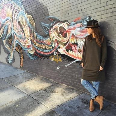 """❤️inside. #art #sanfran"" - San Francisco, Calirfornia - August 4, 2015 Courtesy devanaischa IG"