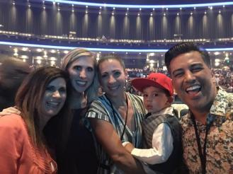 """""""Thank you @NAPPYTABS for being so gracious tonight and allowing us to get a picture with your family! Love you guys!!"""" - Los Angeles, California - August 7, 2015 Courtesy @ktheshrubber"""