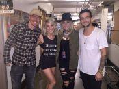 Derek, Julianne, Mark and BC in San Diego, California - August 6, 2015 Courtesy Shirley Ballas FB