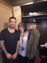 Shirley, Mark and BC in San Diego, California - August 6, 2015 Courtesy Shirley Ballas FB