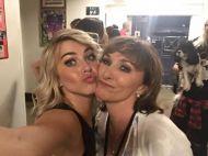 Julianne and Shirley in San Diego, California - August 6, 2015 Courtesy Shirley Ballas FB
