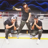 """""""Can't wait for class tonight with these two in Utah!! Come dance!!!"""" - Salt Lake City, Utah - July 30, 2015 Courtesy: devanaischa IG"""
