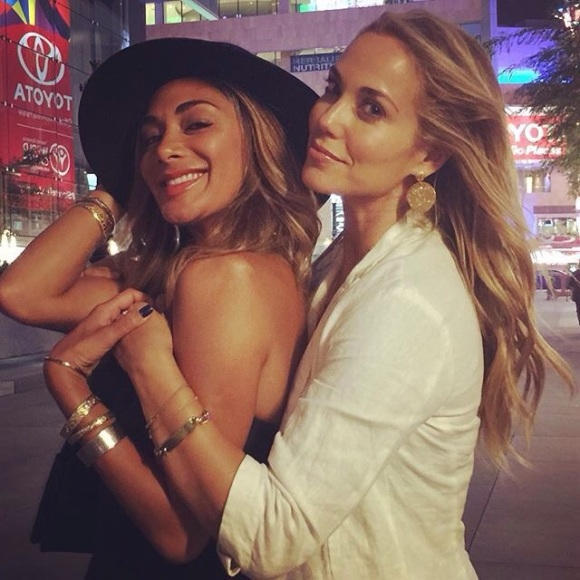 """""""Dancing in the streets post Move Live on Tour with this gorgeous creature! We were inspired by Julianne and Derke Hough! Such a joy!!!!"""" - Los Angeles, California - August 7, 2015 Courtesy: elizberkley IG"""