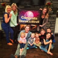 """""""Nashville with my beautiful family. #thanksgiving"""" Courtesy derekhough IG"""