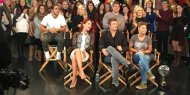 """Oh hey, everybody! #DWTSFinale #DancingOnGMA"" - November 25, 2015 Courtesy GMA twitter"