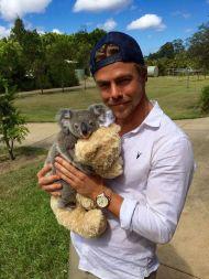 """""""Introducing DerekHough the Koala. Never coming home. Probably."""" - December 2015 Courtesy derekhough Facebook"""