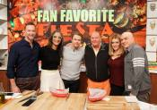 """Today on the Chew"" - February 18, 2016 Courtesy derekhough Facebook"