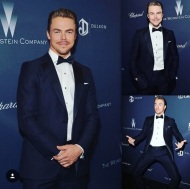 """Proud to be apart of another adventure with The Weinsten Company. #Broadway #singingintherainmusical #classic #2017"" - February 27, 2016 Courtesy derekhough IG"