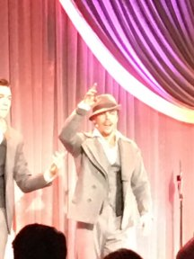 """""""Can't WAIT to see Derek Hough in Singin in the Rain on Broadway! @WeinsteinFilms"""" - February 27, 2016 Courtesy MaryGreen1969 twitter"""