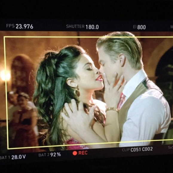 """Dayum Gina ! Things were getting spicy on JTV yesterday. @hereisgina can move !"" - March 24, 2016 Courtesy derekhough IG"