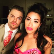 """You elevated our show with your supreme talent. I am forever grateful friend ❤️. @derekhough #JaneTheVirgin loves u!"" - March 23, 2016 Courtesy HereIsGina twitter"