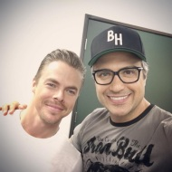 """Pleasure meeting you dear @derekhough 🙌👊💥 We're delighted to have you on #JaneTheVirgin #classact"" - March 23, 2016 Courtesy jaimecamil IG"