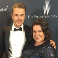 """Harvey Weinstein's Pre Oscar Party! #mosessupposes #broadway #derekhough #singingintherain"" - February 27, 2016 Courtesy jenniedale_actress IG"