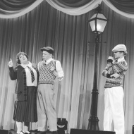 """Moses Supposes! LA! #derekhough #harveyweinstein #singinintherain #broadway"" Courtesy jenniedale_actress IG"