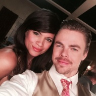 """Tonight's ""Jane the Virgin"" has a very special guest @derekhough #JaneTheVirgin"" - April 18, 2016 Courtesy andreanavedo IG"