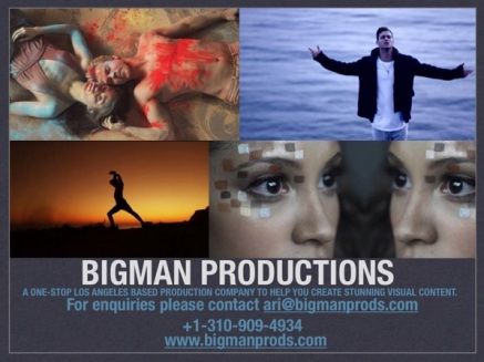 BigMan Productions promo poster that includes two pictures of Derek and Travis' project - May 10, 2016 Courtesy bigmanshorts IG