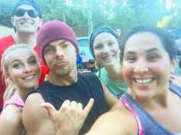 """Had so much fun getting our workout on today! It's so motivating to be surrounded by such a supportive community :) #moveinteractive"" - July 14. 2016 Courtesy jenfernandes IG"
