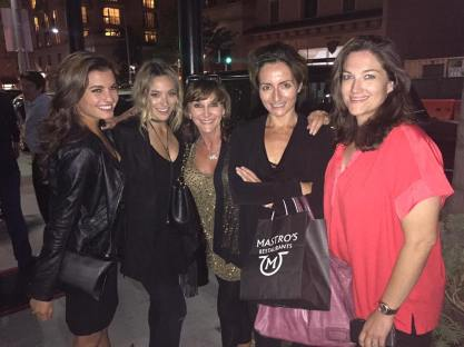 """A night out with family and friends"" - August 24, 2016 Courtesy Shirley Ballas Facebook"