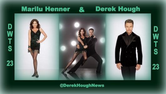 Marilu Henner & Derek Hough - DWTS 23