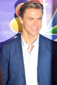 """More Derek Hough via @TheRedCarpetTV: #DWTS #TCA16 #HairsprayLive"" - August 2, 2016 Courtesy KristynBurtt and TheRedCarpetTV twitter"
