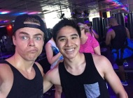 """""You don't have to be great to start, but you gotta start in order to be great."" Thank you @derekhough for reminding me of this beautiful quote! This was such an inspiring, motivating experience! It was an honor working out with you. Definitely my favorite workout 😄🙏"" - August 4, 2016 Courtesy lorenzo_r_santos IG"