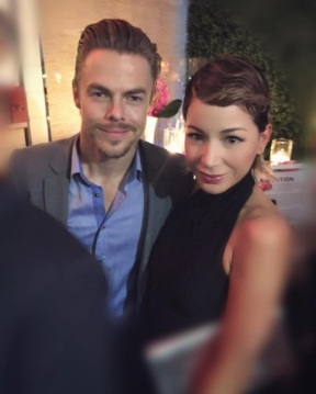 """Funny how timing works ...✨🌺 #magic #graciasmadre #variety #wif #emmys @derekhough"" - September 16, 2016 Courtesy officialkatherinecastro IG"