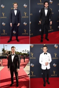 """Let's hear it for the boys! #KitHarrington, #RamiMalek, #DerekHough, & #TomHiddleston are SMOKIN' at the #Emmys! Def my top picks for men of style tonight!"" - September 18, 2016 Courtesy bonnie_fuller IG"