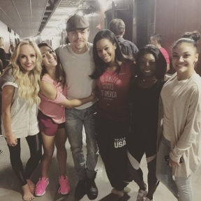 """Nice to see these ladies in action last night"" - September 24, 2016 Courtesy derekhough IG"