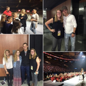 """""""It was a really good night. Special thanks to @nastialiukin and @andrewdeast! #KelloggsTour"""" - September 24, 2016 Courtesy jackiemags11 IG"""