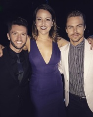 """About last night, when I asked fellow nominees if we dance fight on the red carpet... #emmys #choreography #katburnschoreo #sytycd #dwts @traviswall @derekhough #dizzyfeet"" - September 10, 2016 Courtesy katmburns IG"