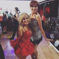 """Jive sisters! 😍 #dwts @dancingabc @TheRealMarilu"" - September 12, 2016 Courtesy terrajole twitter"