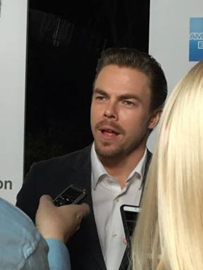 """Derek Hough was there and sang and danced"" - October 1, 2016 Courtesy Bryna Dambrowski Facebook"
