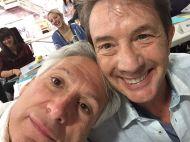 """""""Harvey Fierstein and Martin Short are a match made in heaven! #HairsprayLive 📷: Harvey Fierstein"""" - November 4, 2016 Courtesy nbchairspraylive IG"""