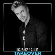 """Put on your dancing shoes and join us on our IG story: @derekhough is taking us BTS Hairspray Live rehearsal & DWTS' Halloween show!"" - October 31, 2016 Courtesy Enews IG"