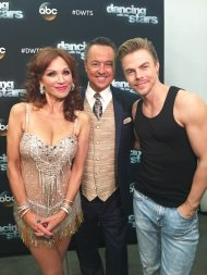 """""""Thanks @TheRealMarilu & @derekhough for all the fun this season on #DWTS - two inspirations on one team."""" - November 7, 2016 Courtesy abc7george twitter"""