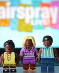 """You Can't Stop The Beat! Lego @HairsprayLive ! @MaddieBaillio @HarveyFierstein @DoveCameron @KChenoweth @ArianaGrande @IAMJHUD @derekhough"" - October 23, 2016 Courtesy broadwaybrick twitter"