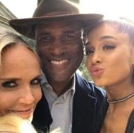 """A Few More days!! Kristin Chenoweth and Ariana Grande-Velma and Penny!"" - November 27, 2016 Courtesy iamkennyleon IG"