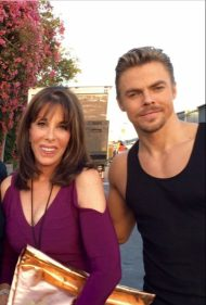 """@derekhough was fabulous as usual tonight @DancingABC"" - October 4, 2016 Courtesy katelinder twitter"