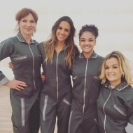 """""""Team future!!! My girls! @therealmarilu @lauriehernandez_ @terrajole !! Blessed to be on a team with such amazing women!!!! @dancingabc #dwts"""" - October 23, 2016 Courtesy kramergirl IG"""