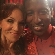 """My buddy @babyface Love him! We are bonded forever!!!! #DWTS"" - October 4, 2016 Courtesy therealmarilu IG"