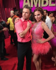 """Just a little pre-show attitude with @derekhough. It's #LatinNight at @dancingabc! #DWTS"" - October 17, 2016 Courtesy therealmarilu IG"
