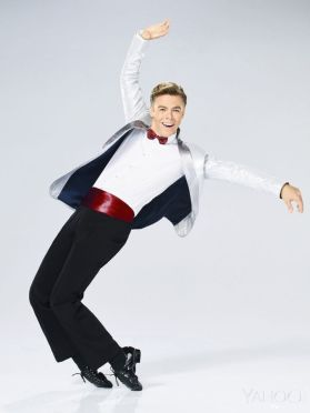 Derek's official photo as Corny Collins for Hairspray Live! Courtesy yahoo tv