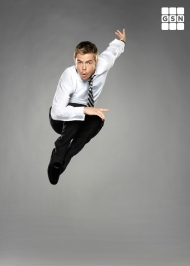 DANCING WITH THE STARS on GSN, Derek Hough Logo - December 2011 Courtesy of GSN (Kevin Lynch)