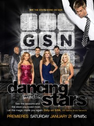 DANCING WITH THE STARS on GSN - Promo Poster, December 2011 Courtesy of GSN
