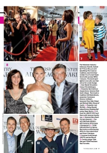 Derek & Advocacy Awards featured on TV Guide (October 3, 2016 issue)